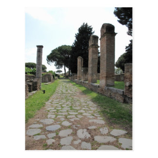 Ostia - Harbour City of Ancient Rome Postcard