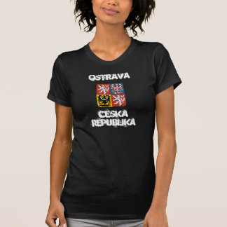 Ostrava, Czech Republic with coat of arms T-Shirt