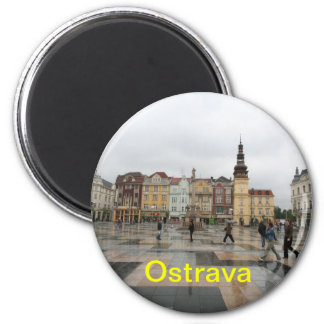 Ostrava fridge magnet