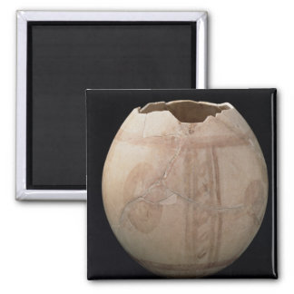 Ostrich egg cut in the form of a vase from Puig de Magnet