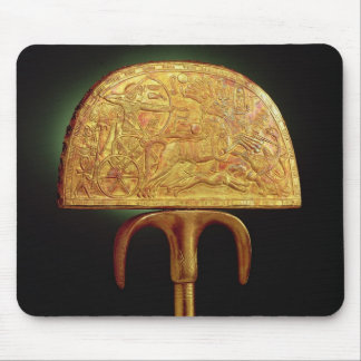 Ostrich-feather fan, from Tomb of Tutankhamun Mouse Pad