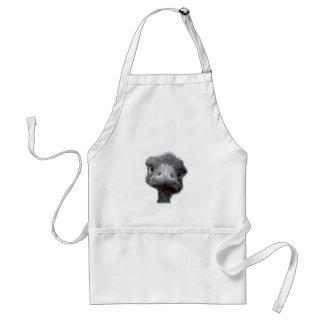 Ostrich head apron