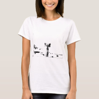 Ostrich Head in Pen and Ink T-Shirt
