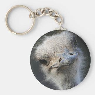 Ostrich Key Ring