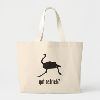 Ostrich Large Tote Bag