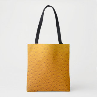Ostrich Leather Look Tote Bag