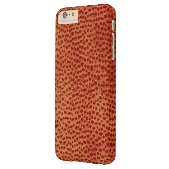 Ostrich Leather Print iPhone 6/6s Plus Case