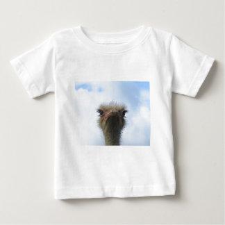 Ostrich Portrait Baby T-Shirt