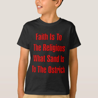 Ostrich Religion Tee Shirt