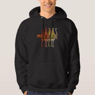 Ostrich Riding Hoodie