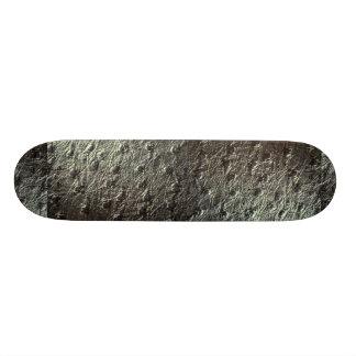 Ostrich Skin Leather Skate Board Deck