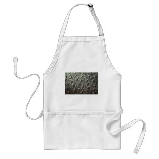Ostrich Skin Leather Standard Apron