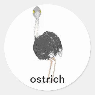 Ostrich Stickers