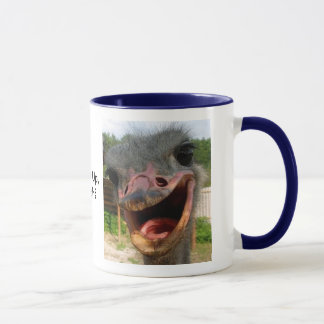 Ostrich What's Up Mug