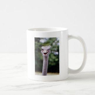 Ostrich Winking - Funny Coffee Mug