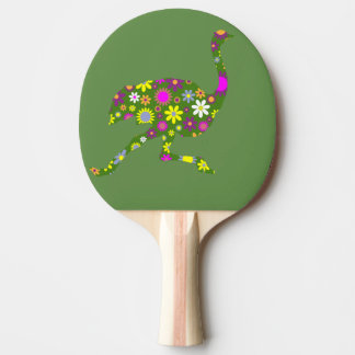ostritch ping pong paddle