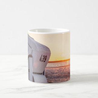 Ostsee sunset coffee mug