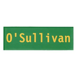 O'Sullivan Name Tag