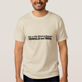 Oswald on Trial - Mult-Products Tshirts