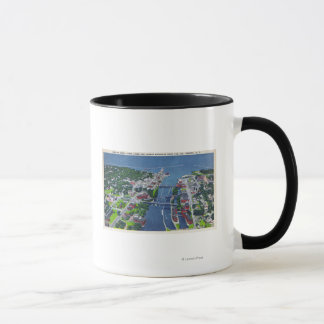 Oswego River, Locks, Harbor Entrance Mug