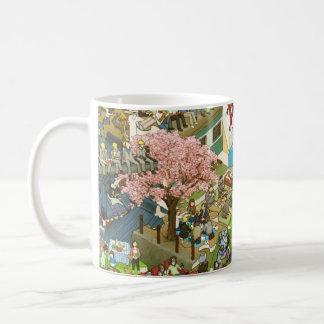 osyokuji_time_mug B Basic White Mug