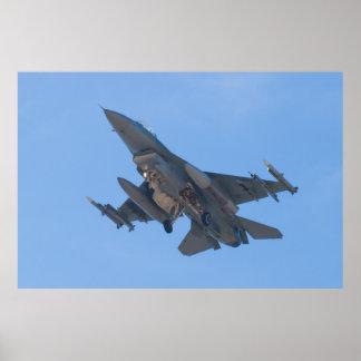 OT AF 91 0374 F-16C Fighting Falcon Poster