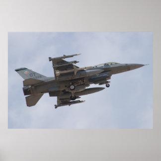 OT AF 92 3926 F-16D Fighting Falcon Poster