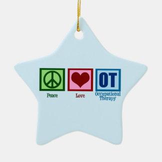 OT Blue Christmas Ornament