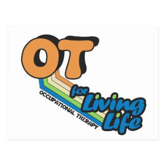OT for Living Life Postcard