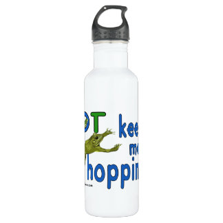 Ot keeps me hopping 710 ml water bottle