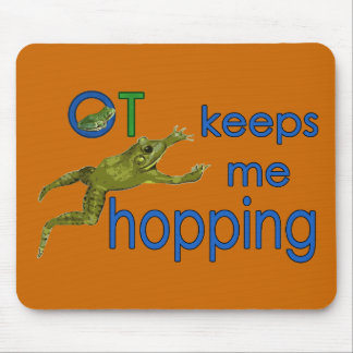 ot keeps me hopping mouse pad