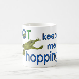OT keeps me hopping mug
