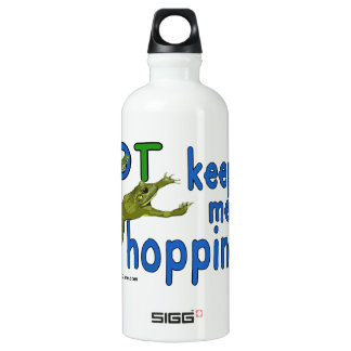 Ot keeps me hopping water bottle