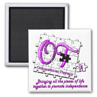 ot puzzle purple magnet
