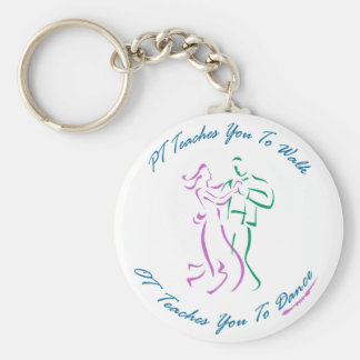 OT Teaches You To Dance Basic Round Button Key Ring