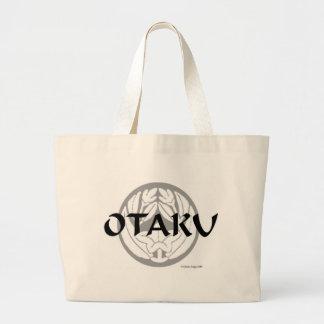 Otaku Flower Crest 2 Jumbo Tote Bag