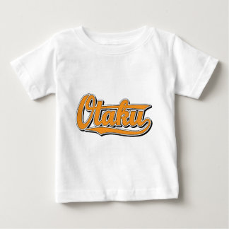 Otaku in Orange Baby T-Shirt