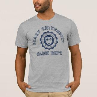 Otaku University Game Dept in Blue T-Shirt