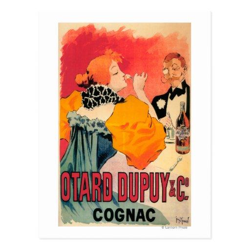 Otard-Dupuy & CO. Cognac Promotional Poster Post Card