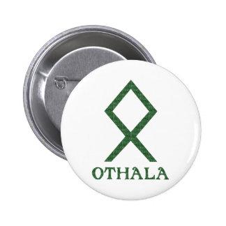 Othala 6 Cm Round Badge