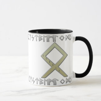 Othala Rune gold Mug