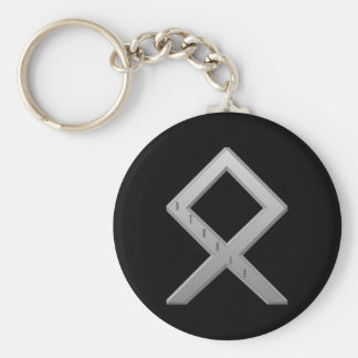 Othala Rune grey Key Ring
