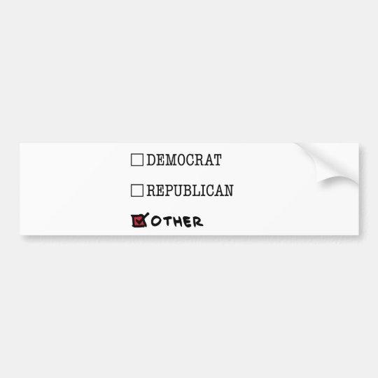 Other-Brand Bumper Sticker
