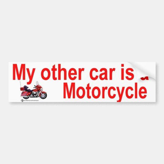 other car bumper sticker