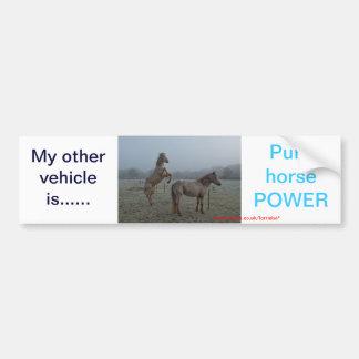 Other vehicle, sticker bumper sticker