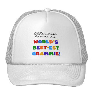 Otherwise Known as Best-est Grammie T-shirts Hat