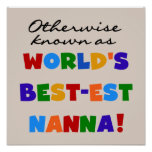 Otherwise Known as Best-est Nanna Gifts Print