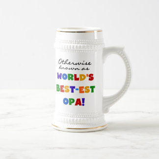 Otherwise Known as Best Opa T-shirts and Gifts Beer Steins