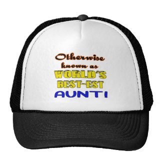 Otherwise known as world's bestest Aunt Cap