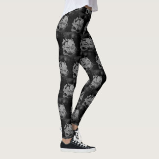 Otherworldly Unique Abstract Leggings